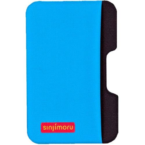 iPhone SE/5s/5 ケース SINJIPOUCH Side(シンジポーチサイド)ブルー エラー防止シート付_0