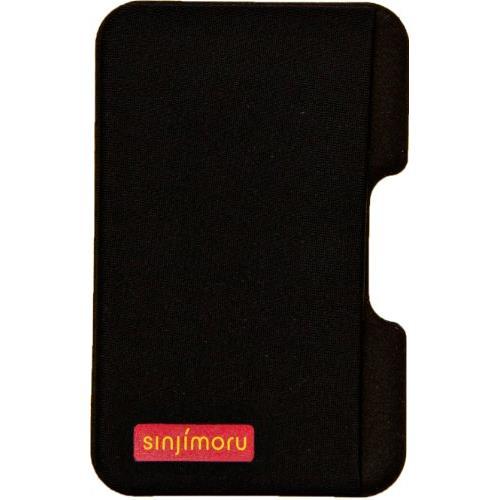 【iPhone SE/5s/5ケース】SINJIPOUCH Side(シンジポーチサイド)ブラック エラー防止シート付_0