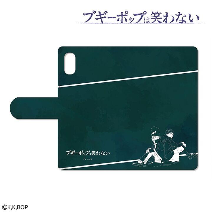 iPhone XR ケース ブギーポップは笑わない 手帳型ケース for iPhone XR【7月下旬】_0