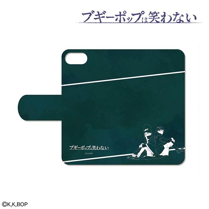 iPhone8/7 ケース ブギーポップは笑わない 手帳型ケース for iPhone 8/7/6s/6【6月下旬】_0