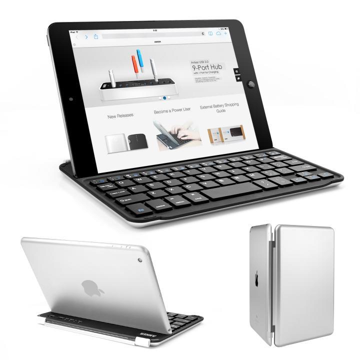 Anker iPad mini/2/3対応 ウルトラスリムキーボードカバー