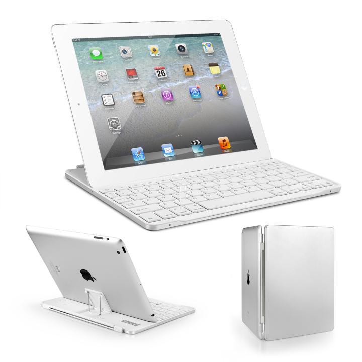 Anker iPad(第2-4世代) キーボードカバー ホワイト 送料無料
