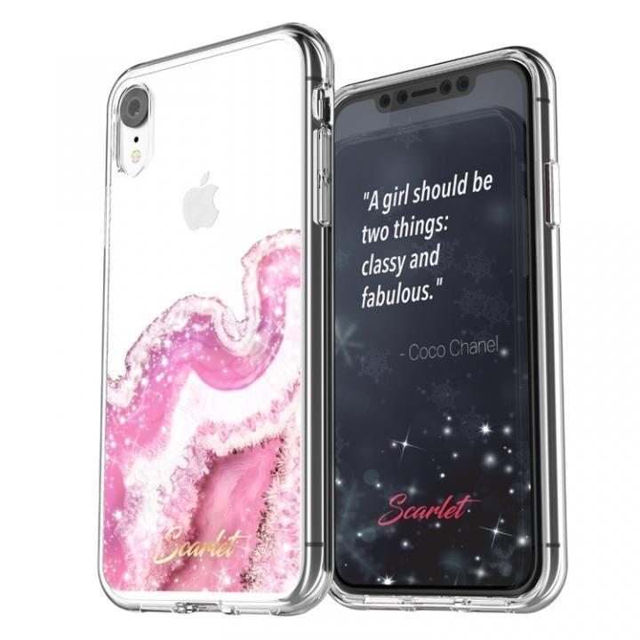 iPhone XR ケース Scarlet(スカーレット) AGATE(アゲート) スマホケース ピンク iPhone XR_0