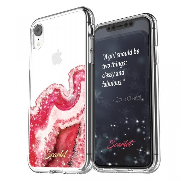 iPhone XR ケース Scarlet(スカーレット) AGATE(アゲート) スマホケース レッド iPhone XR_0