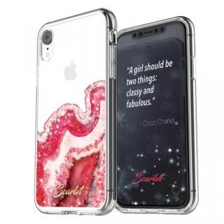 iPhone XR ケース Scarlet(スカーレット) AGATE(アゲート) スマホケース レッド iPhone XR