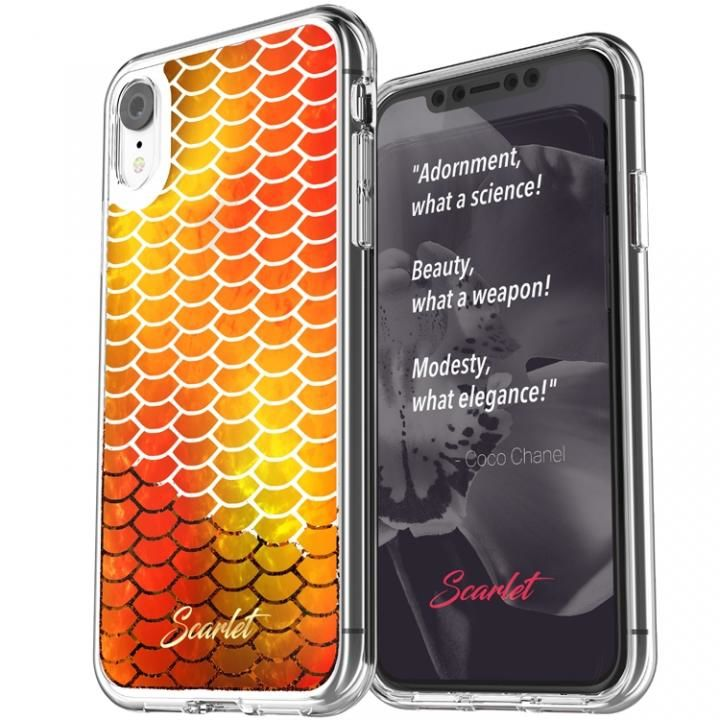 iPhone XR ケース Scarlet(スカーレット) ARIEL(アリエル) スマホケース レッド iPhone XR_0