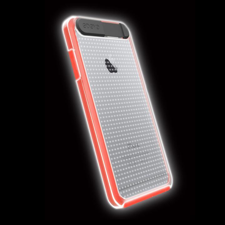 iPhone6 ケース ケースが光る!ODOYO Shine Edge ハードケース オレンジ iPhone 6_0