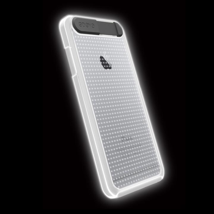【iPhone6ケース】ケースが光る!ODOYO Shine Edge ハードケース ホワイト iPhone 6_0