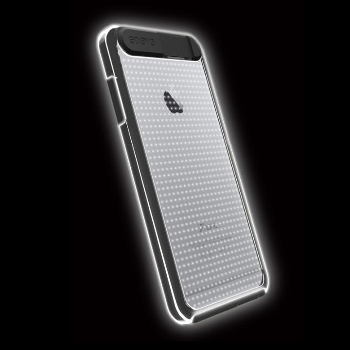 【iPhone6ケース】ケースが光る!ODOYO Shine Edge ハードケース ブラック iPhone 6_0