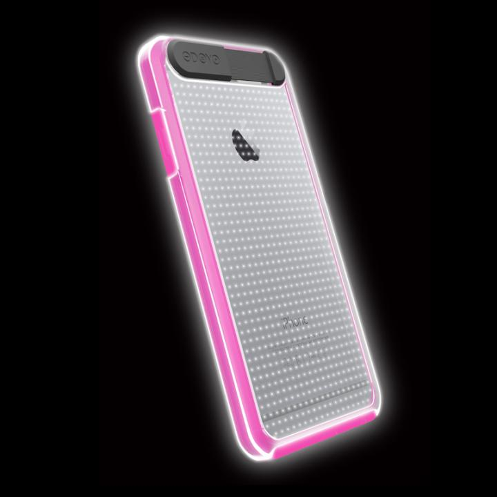 【iPhone6ケース】ケースが光る!ODOYO Shine Edge ハードケース ピンク iPhone 6_0