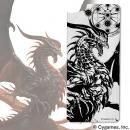 ソリッドバンパー用アルミパネル Shadowverse バハムート for iPhone 8 / 7