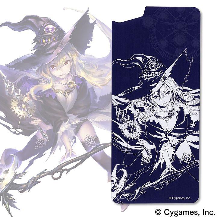 【iPhone8/7ケース】ソリッドバンパー用アルミパネル Shadowverse 次元の魔女・ドロシー for iPhone 8 / 7_0