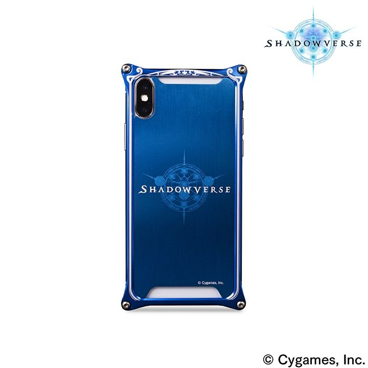 iPhone X ケース ソリッドバンパー Shadowverse for iPhone X Blue_0