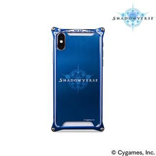 【iPhone Xケース】ソリッドバンパー Shadowverse for iPhone X Blue