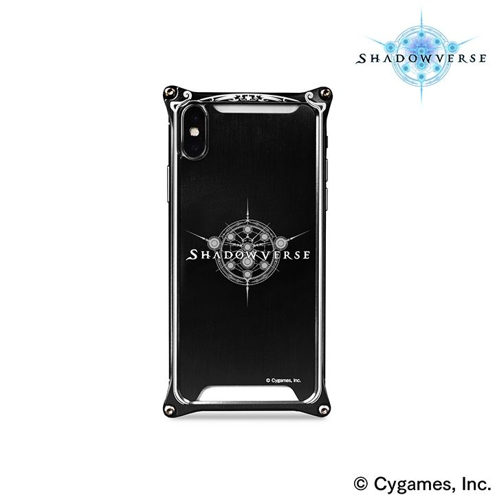 【iPhone Xケース】ソリッドバンパー Shadowverse for iPhone X Black_0