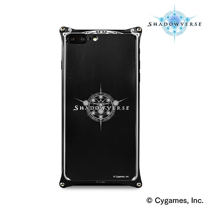 iPhone8 Plus/7 Plus ケース ソリッドバンパー Shadowverse for iPhone 8 Plus / 7 Plus Black_0