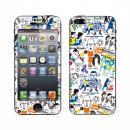 スキンシール junky collage iPhone SE/5s/5