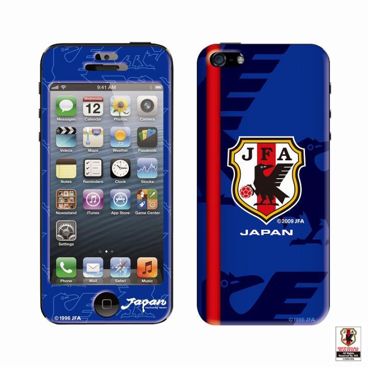 [8月特価]スキンシール SAMURAI BLUE ver.1  iPhone SE/5s/5