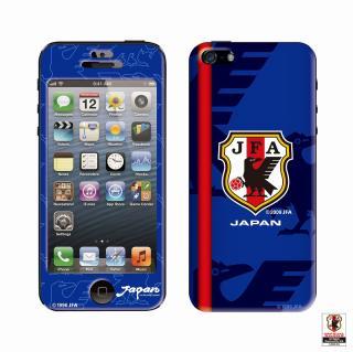 スキンシール SAMURAI BLUE ver.1  iPhone SE/5s/5