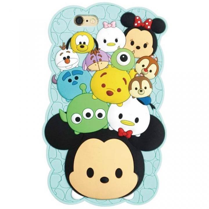 iPhone6s/6 ケース ディズニー ツムツム シリコン ブルー iPhone 6s/6_0