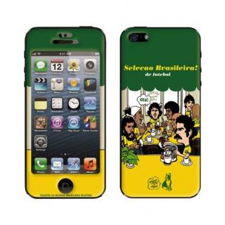 iPhone SE/5s/5 ケース スキンシール VIVA BRASIL!! iPhone SE/5s/5