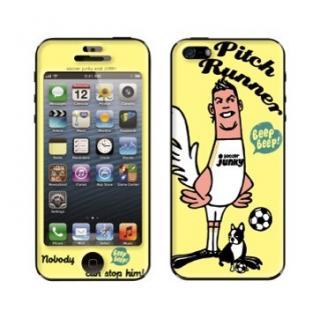 スキンシール Pitch Runner iPhone SE/5s/5
