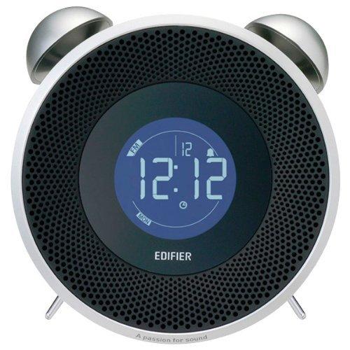 TickTock Bluetooth Edifier製FMラジオ搭載Bluetooth対応スピーカー ブラック