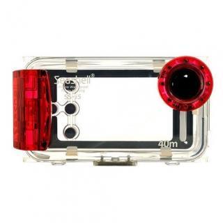 【その他のiPhone/iPodケース】SeaShell防水フォトハウジングiPhone5用(ルビーレッド)