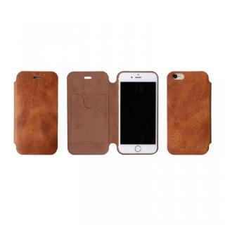 【iPhone6ケース】[数量限定]Deff 天然牛革手帳型ケース プレミアム MASK キャメル iPhone 6_3