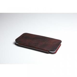 【iPhone6ケース】[数量限定]Deff 天然牛革手帳型ケース プレミアム MASK チョコレートブラック iPhone 6_1