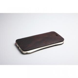 【iPhone6ケース】[数量限定]Deff 天然牛革手帳型ケース プレミアム MASK チョコレートブラック iPhone 6_2