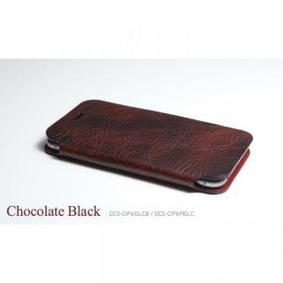 【iPhone6ケース】[数量限定]Deff 天然牛革手帳型ケース プレミアム MASK チョコレートブラック iPhone 6_3
