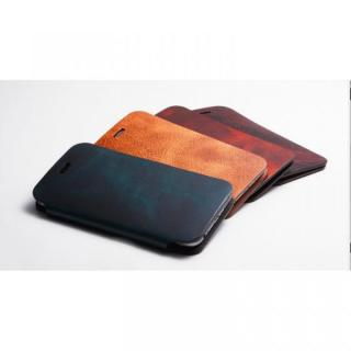 【iPhone6ケース】[数量限定]Deff 天然牛革手帳型ケース プレミアム MASK チョコレートブラック iPhone 6_7
