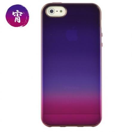 iPhone 5 ケース 「染-SO・ME-」宵