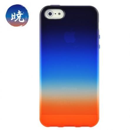 iPhone 5 ケース 「染-SO・ME-」暁