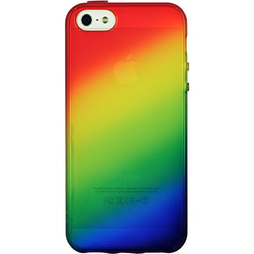 iPhone SE/5s/5 ケース iPhone 5 ケース 「染-SO・ME-」虹_0