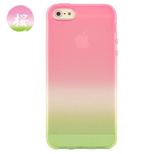 【iPhone SE/5s/5ケース】iPhone 5 ケース 「染-SO・ME-」桜_0