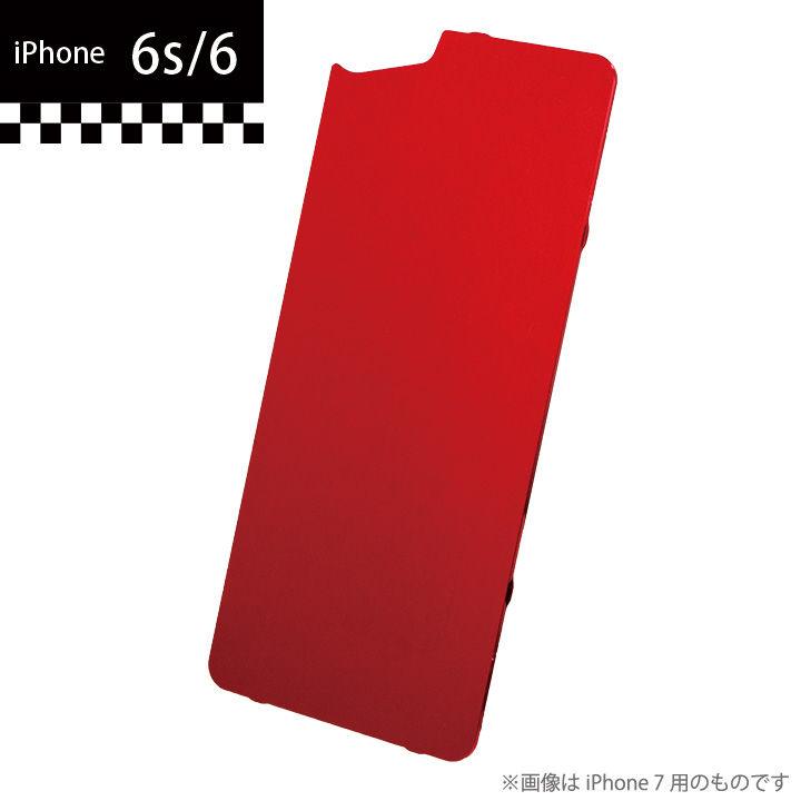 GILD design×AppBank Store ソリッドバンパー用 背面アルミパネル レッド iPhone 6s/6