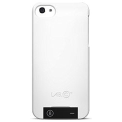 【iPhone SE/5s/5ケース】[LAB.C] USB Case  iPhone 5 [White-Black]