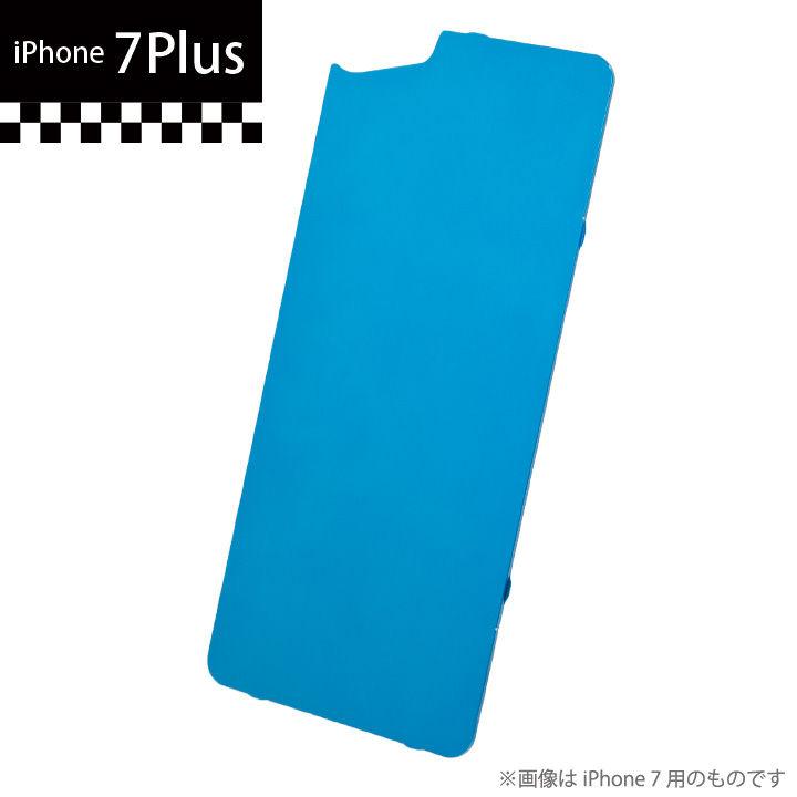 【iPhone7 Plus】GILD design×AppBank Store ソリッドバンパー用 背面アルミパネル ブルー iPhone 7 Plus_0