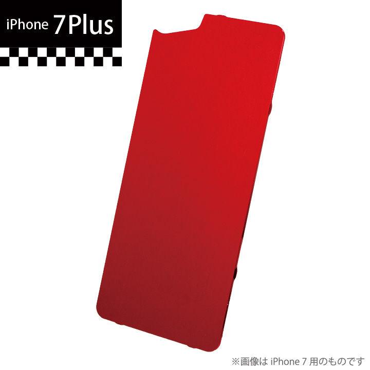 GILD design×AppBank Store ソリッドバンパー用 背面アルミパネル レッド iPhone 7 Plus