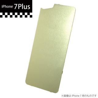 GILD design×AppBank Store ソリッドバンパー用 背面アルミパネル シャンパンゴールド iPhone 7 Plus