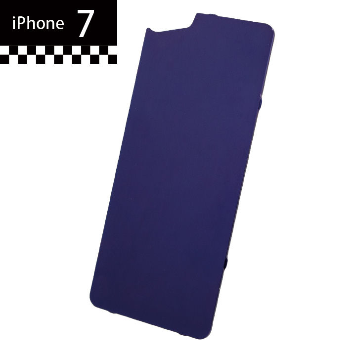 iPhone7 GILD design×AppBank Store ソリッドバンパー用 背面アルミパネル パープル iPhone 7_0