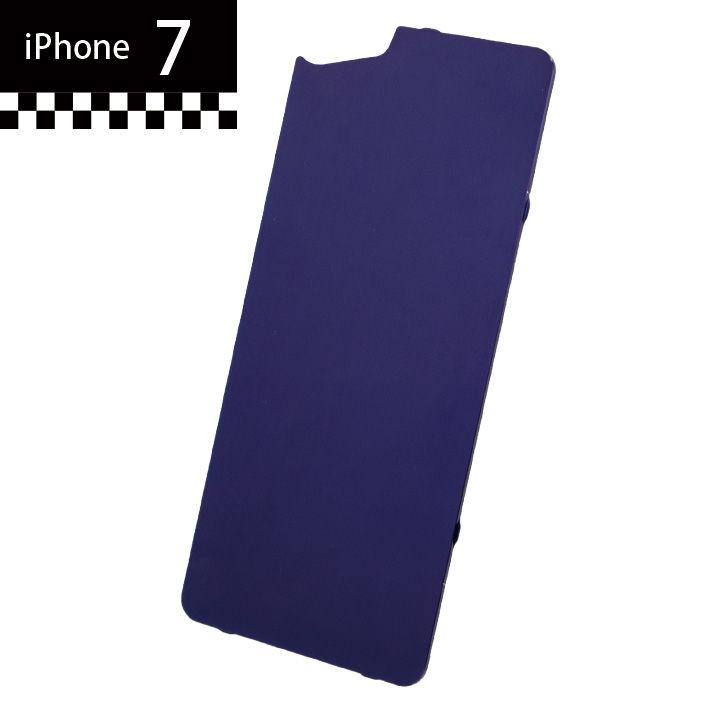 【iPhone7】GILD design×AppBank Store ソリッドバンパー用 背面アルミパネル パープル iPhone 7_0