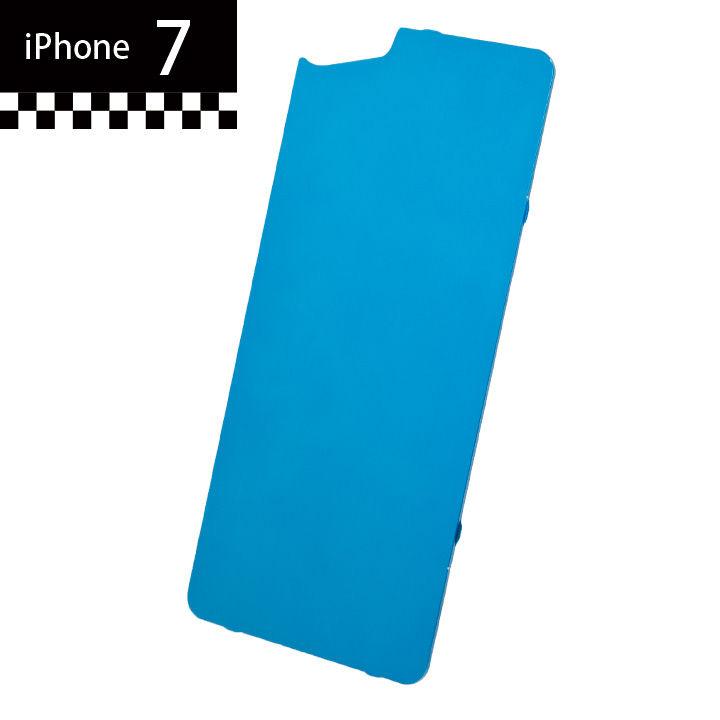 iPhone7 GILD design×AppBank Store ソリッドバンパー用 背面アルミパネル ブルー iPhone 7_0