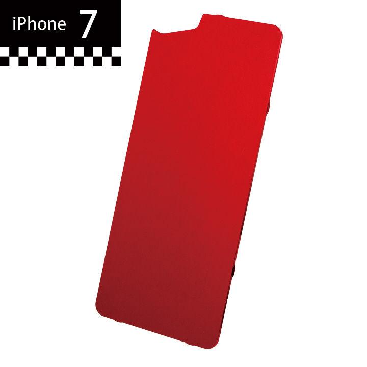 iPhone7 GILD design×AppBank Store ソリッドバンパー用 背面アルミパネル レッド iPhone 7_0