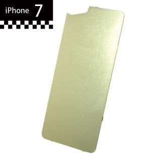 [2018新生活応援特価]GILD design×AppBank Store ソリッドバンパー用 背面アルミパネル シャンパンゴールド iPhone 7