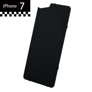 GILD design×AppBank Store ソリッドバンパー用 背面アルミパネル ブラック iPhone 7