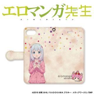 【iPhone7 ケース】エロマンガ先生 手帳型ケース iPhone 8 / 7
