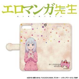 エロマンガ先生 手帳型ケース iPhone 8 Plus / 7 Plus